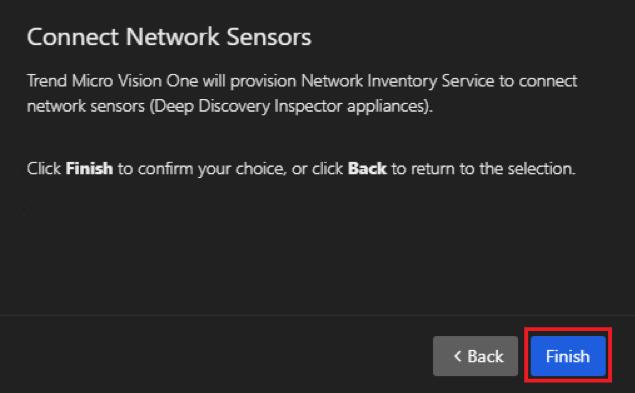 DDI and Service Gateway integration via Trend Micro Vision One