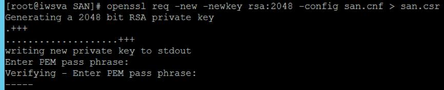 type PEM pass