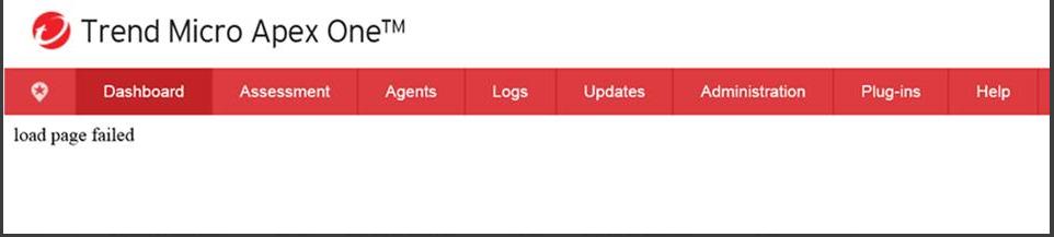 load page failed