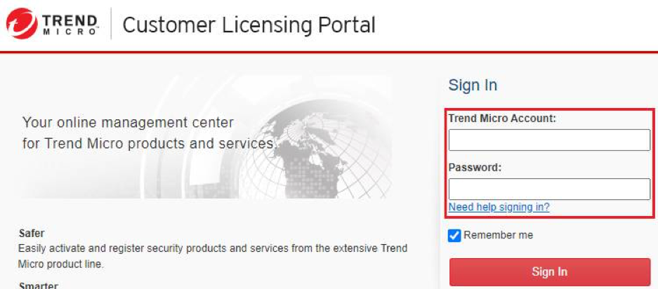 Log in to CLP portal
