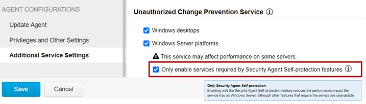 Server Self-Protection