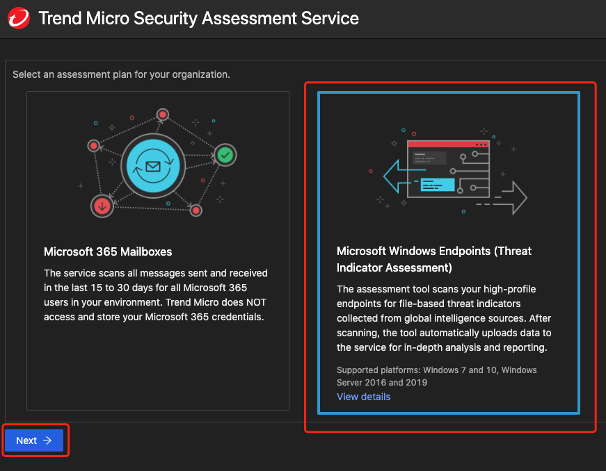 Trend Micro Cybersecurity Assessment Service Data Collection Disclosure