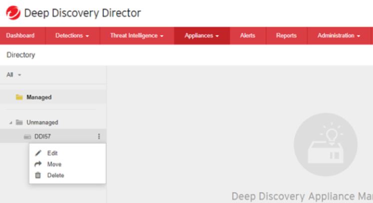 Move to another directory