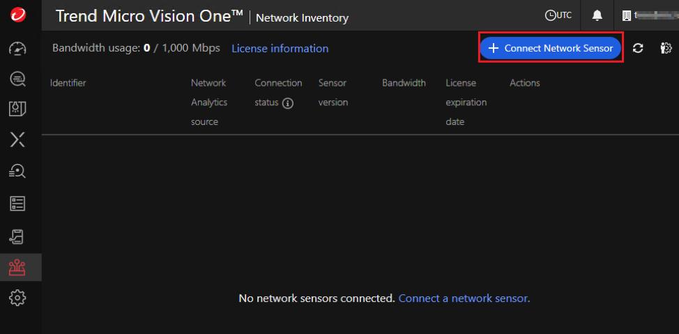 Connect Network Sensor