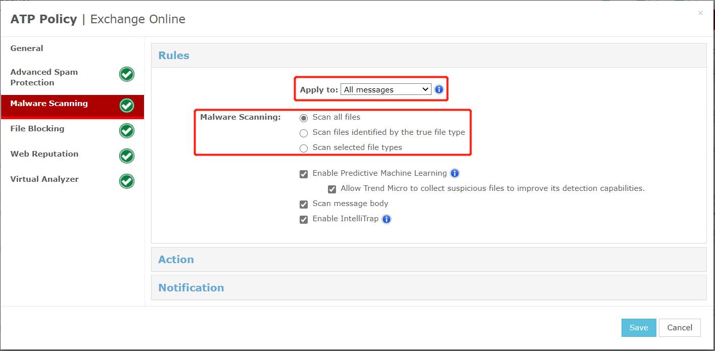 Testing MS Exchange Online