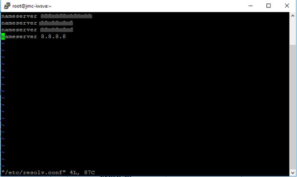 add DNS servers2
