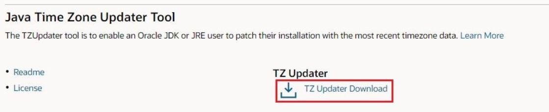 TZUpdate tool