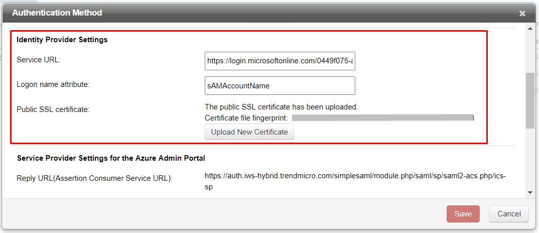Public SSL certificate