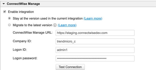 Configure 3rd party Integration 1