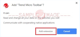 Add_Extentuin_To_Chrome_Trend_Micro_Security_Toolbar