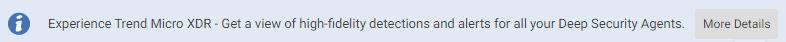 Promotion notification bar