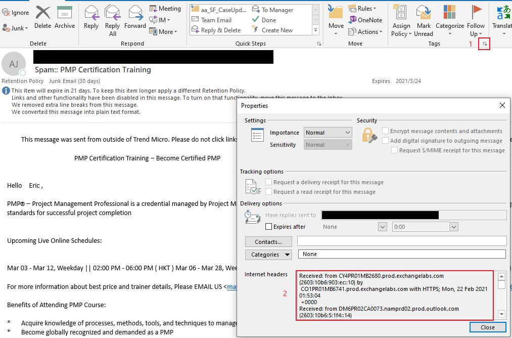Sample Mail