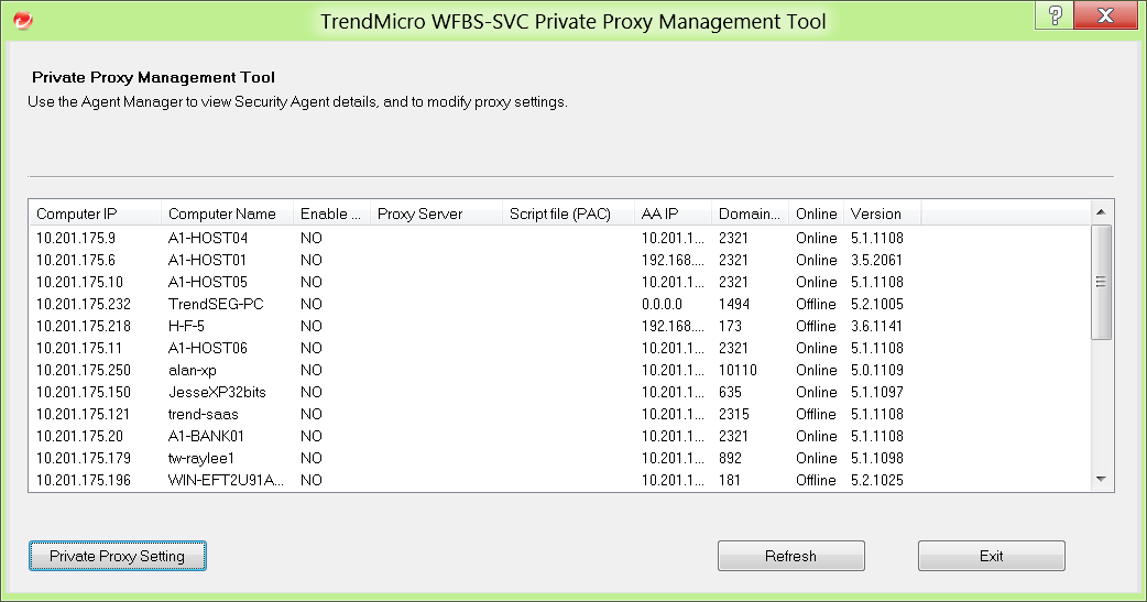 Private Proxy tool