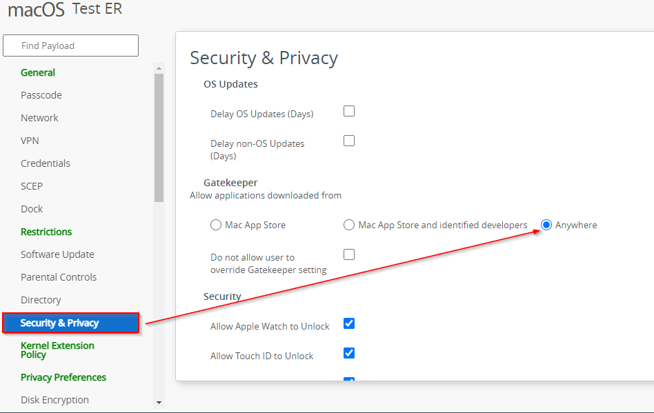 """o to Security and Privacy and have the Gatekeeper to select """"Anywhere"""" or allow apps outside Mac App store"""