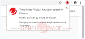 Notification_Chrome_Added_Trend_Micro_Security_Toolbar
