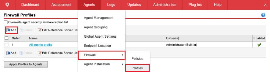 Firewall Profile