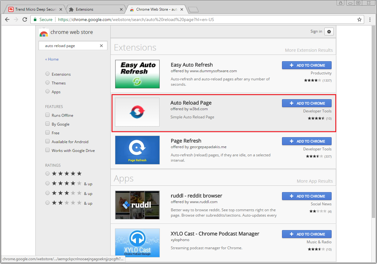 Auto Refresh The Dashboard Page Deep Security Manager