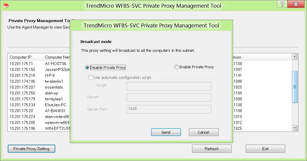 Private Proxy tool