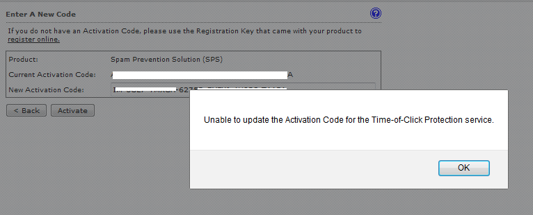 Unable to update AC