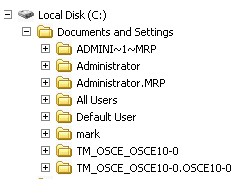 User Profiles on the Officescan Server