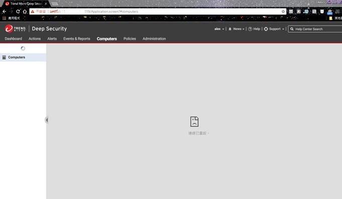 Google Chrome browser failed