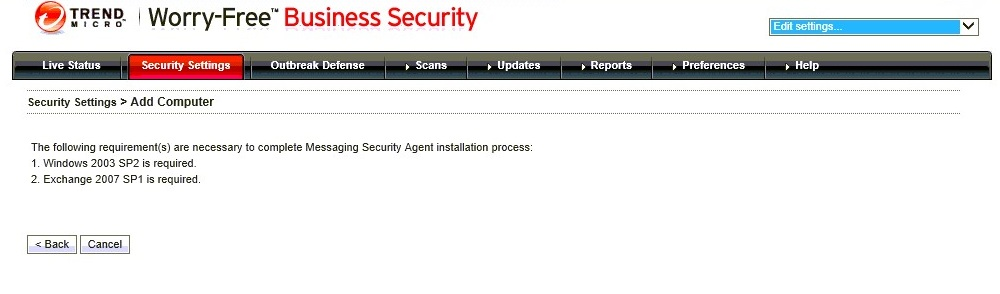 Cannot install MSA error