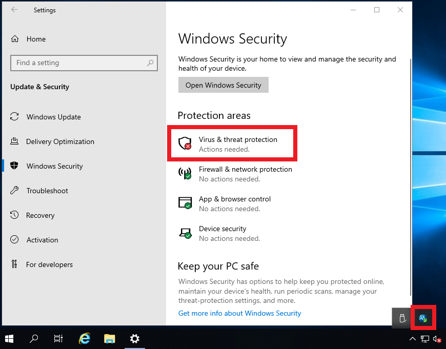 Windows 2019 Error