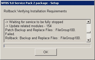 WFBS 9.0 Service Pack 2 package - Setup