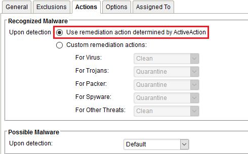 Anti-Malware Configuration
