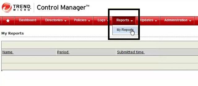 TMCM - My Reports