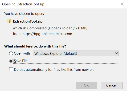 Download Extraction Tool