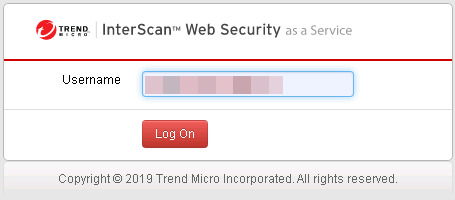 Log in as Authentication Agent