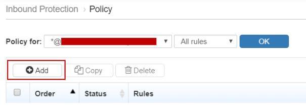 Inbound Policies