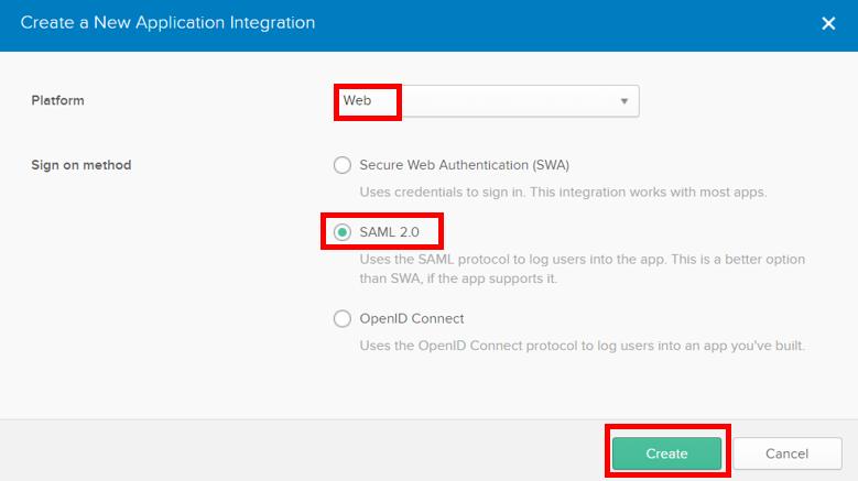 New Application Integration