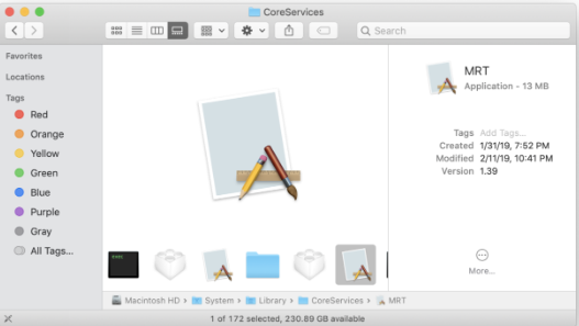 MRT.app in Mac