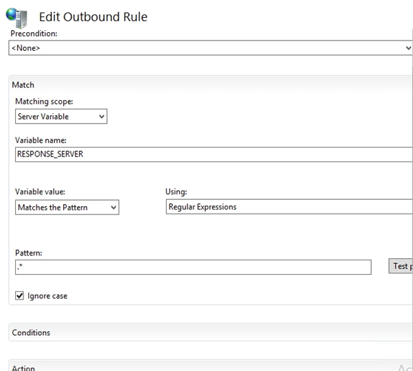 Edit Outbound rules