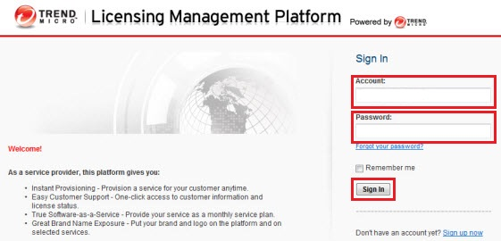Licensing Management Platform