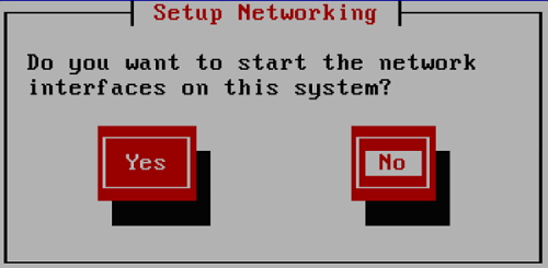 setup networking