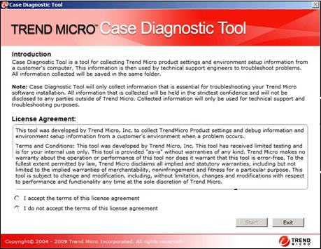 License Agreement - Case Diagnostic Tool