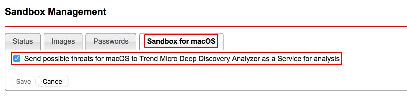 Sandbox for macOS