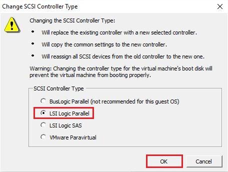SCSI Controller Type