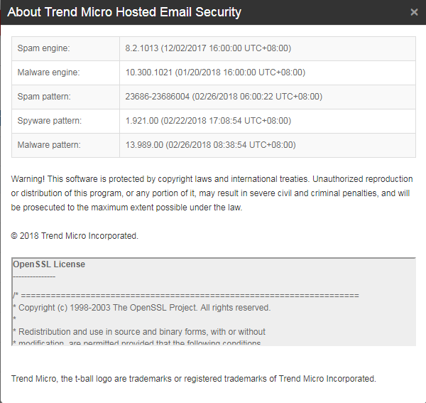 About Trend Micro Hosted Email Security