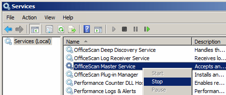 OfficeScan Master Service