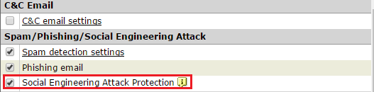 Social Engineering Attack Protection