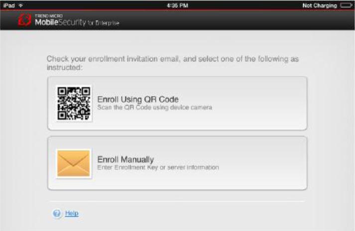 Eroll using QR Code