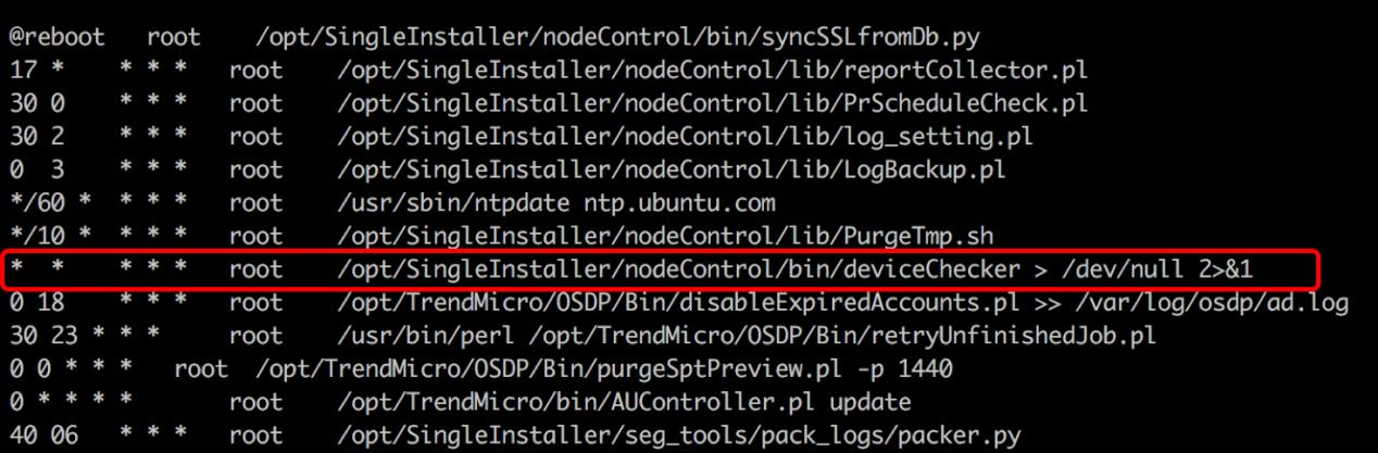 Restore deviceChecker