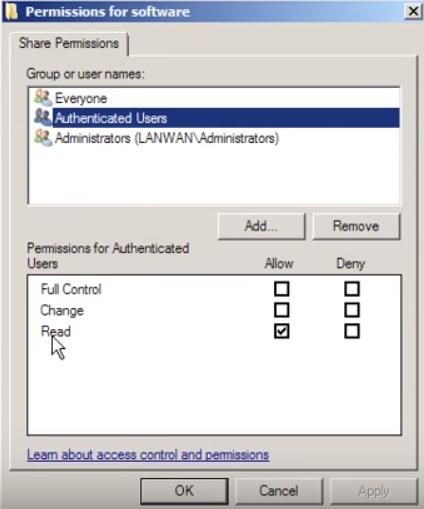 Folder Permission
