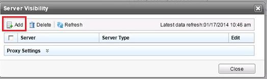 Adding a server