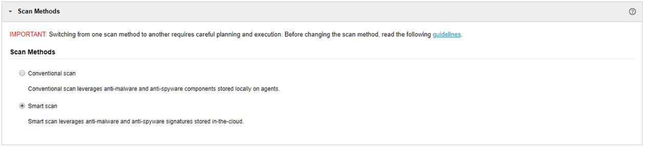 Scan Methods