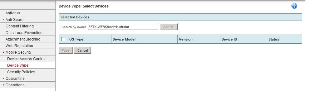 Server owner name